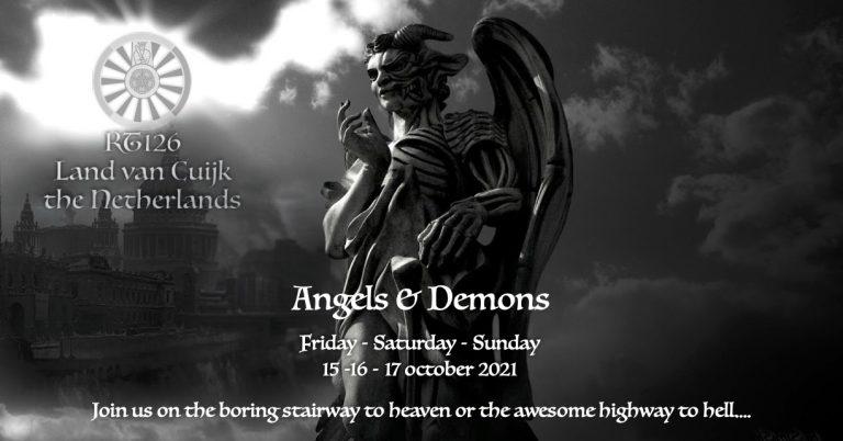 uitnodiging Angels & Demons